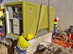 New Sub Station Being Installed