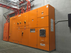 Completed Installation of New 2500 Amp Main Switchboard