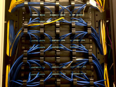 Data Cable Installation: Communications Panel