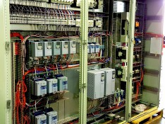 Installation on Site of New Control Panel