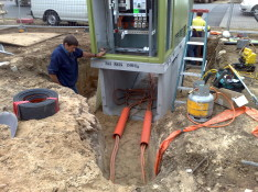 Underground Mains Installed to the Sub Station